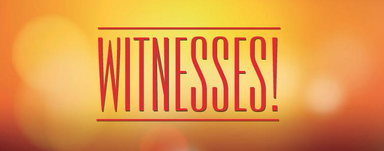 Witnesses Banner